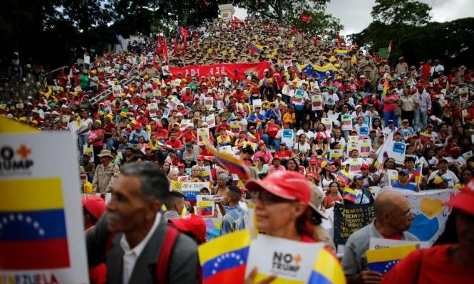 دبلوماسي أميركي: واشنطن لا تريد تدخلا عسكريا في فنزويلا