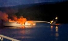 العثور على 25 جثة بعد حريق بسفينة سياحية بكاليفورنيا