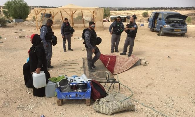 النقب: اعتقالات في مداهمة الشرطة لقرية العراقيب