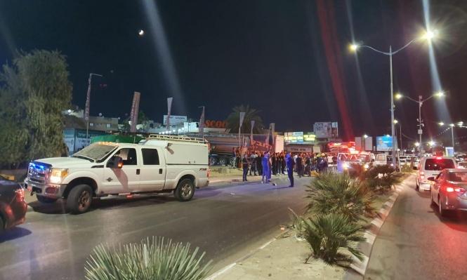 إصابات بجريمة إطلاق نار وحادث دهس في رهط