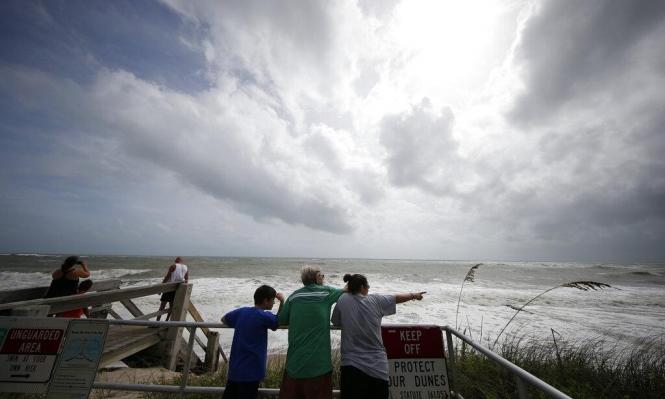 إعصار دوريان: مصرع 5 أشخاص تأهب وإخلاء ولايات بأميركا