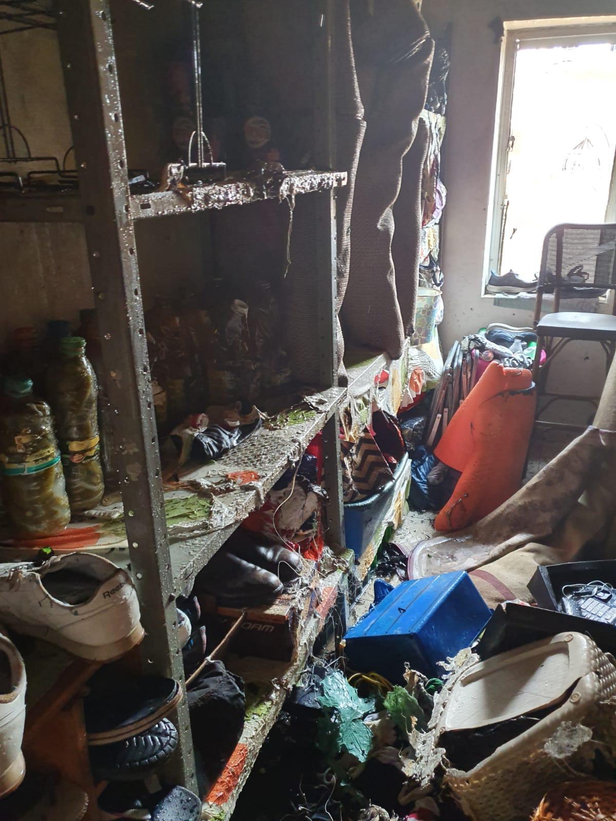 أبو سنان: إصابتان إثر اندلاع حريق في منزل