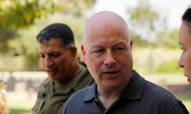 غرينبلات يعتزم الاستقالة من منصبه مبعوثًا خاصا لترامب بالشرق الأوسط