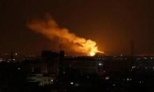الاحتلال الإسرائيلي يستهدف مواقع في قطاع غزة