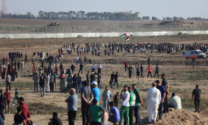الاحتلال يقصف موقعين شمالي قطاع غزة