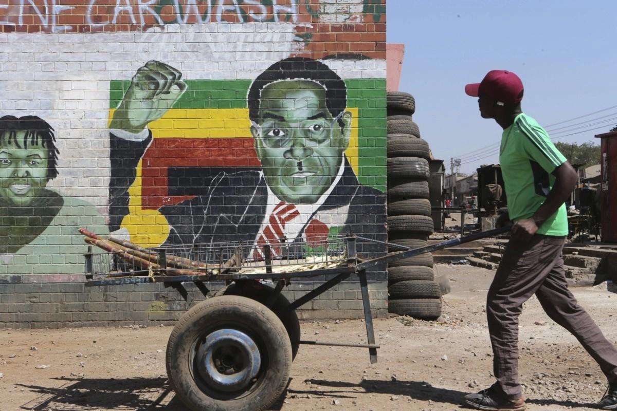ظلّ اسمه قرين اسم زيمبابوي لعقود (أ ب)