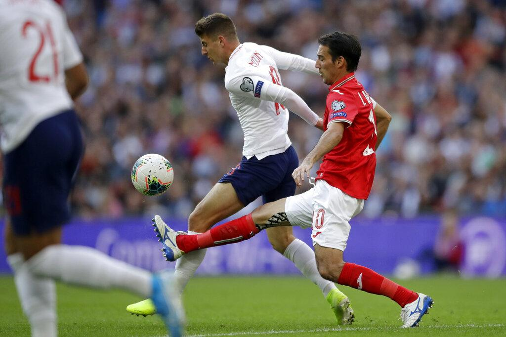 تصفيات يورو 2020: إنجلترا تسحق بلغاريا برباعية