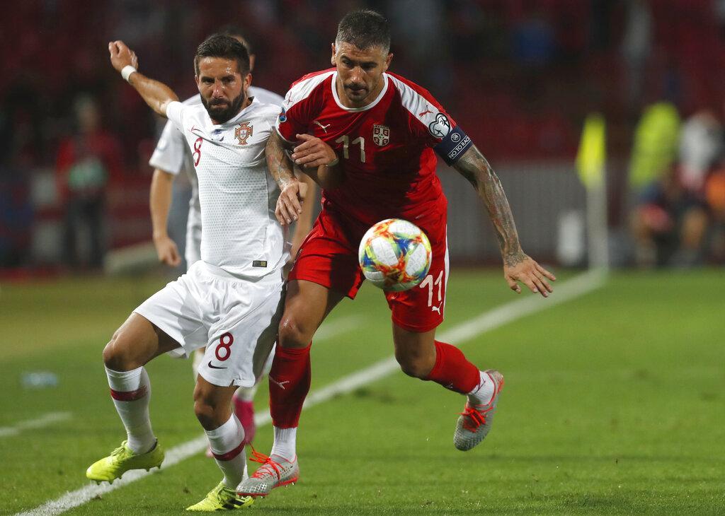 تصفيات يورو 2020: البرتغال تهز شباك صربيا برباعية لهدفين