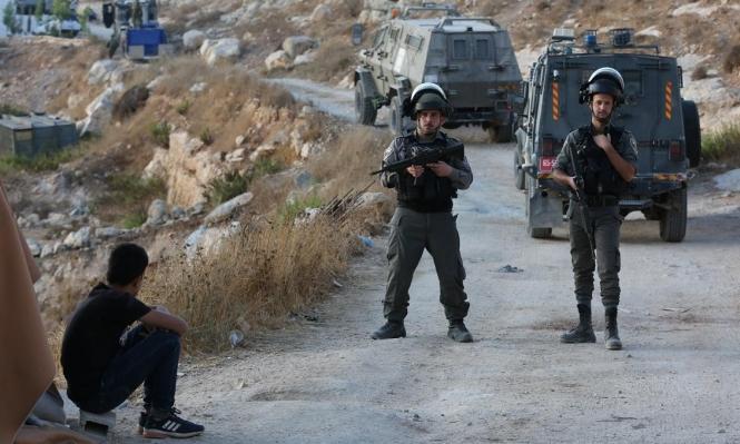 اعتقالات بالضفة واعتداءات للمستوطنين  في قرى نابلس
