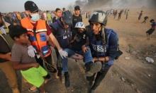 غزة: إصابة 45 مسعفًا و30 صحافيًا برصاص الاحتلال بنصف عام