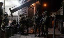 اعتقال 14 فلسطينيا وإصابات بمواجهات مع الاحتلال برام الله