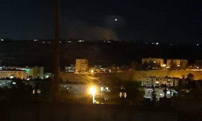 الجيش الإسرائيلي يدّعي رصد محاولة إطلاق قذائف من سورية