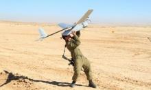 إسقاط طائرة إسرائيلية مسيرة جنوب غزة
