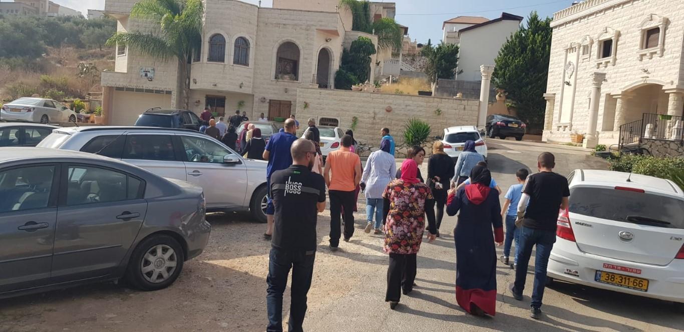 طمرة: غضب في احتجاج أمام ابتدائية ابن سيناء