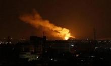 طيران الاحتلال يقصف 15 موقعا في غزة