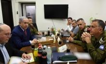 نتنياهو يجري مشاورات أمنية مع قيادة الجيش ويهدد حماس
