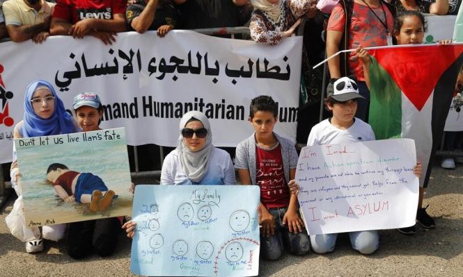 لاجئون فلسطينيون يطالبون بفتح باب الهجرة من لبنان