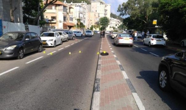حيفا: إحراق سيارة طبيب أصيب قبل أيام بجريمة لإطلاق نار