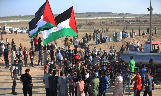 غزة: 30 مصابا جراء قمع الاحتلال لمسيرة العودة