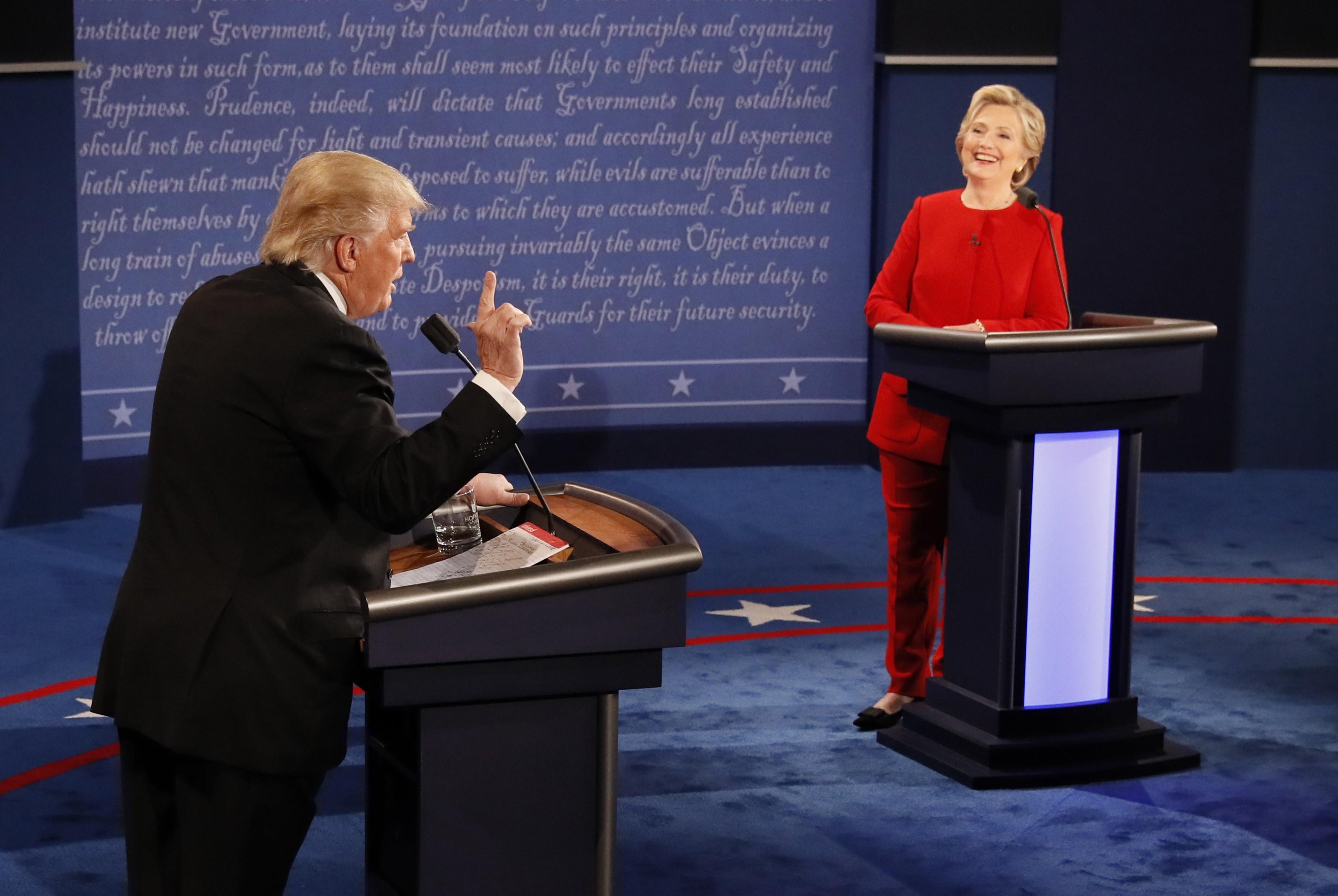 ترامب دغدغ مشاعر الجمهوريين: حرب العراق خطأ  (أ ب)