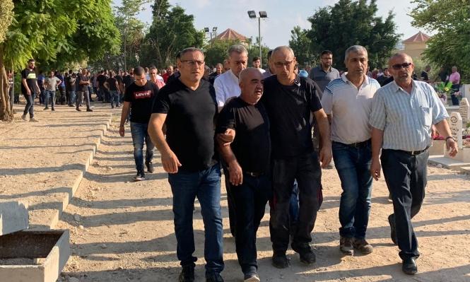 باقة الغربية تُشيّع ضحية جريمة القتل الشاب أبو حسين