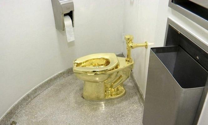 سرقة مرحاض من الذهب سعره 5 ملايين دولار!