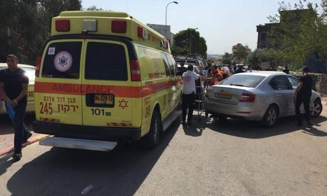 إصابتان بحادث طرق قرب اللد