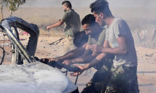البوكمال: مقتل 10 مقاتلين موالين لإيران بغارة جوية