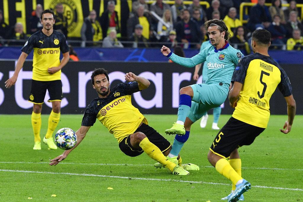 برشلونة يقع بفخ التعادل أمام بوروسيا دورتموند