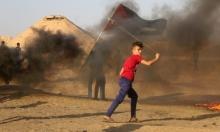 """غزة: 65 مصابا في جمعة """"مخيّمات لبنان"""""""
