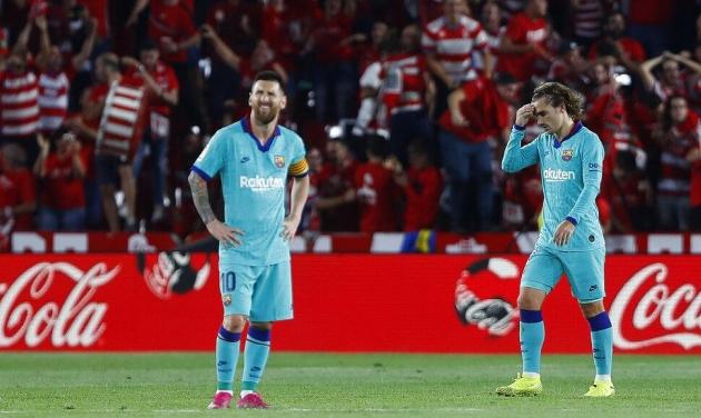 خسارة مفاجئة لبرشلونة أمام غرناطة
