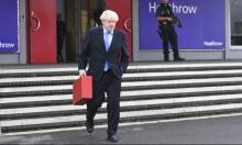 """قبيل لقائه روحاني: جونسون يتهم إيران بالوقوف وراء هجمات """"أرامكو"""""""