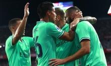 بنزيمة يقود ريال مدريد للفوز على إشبيلية