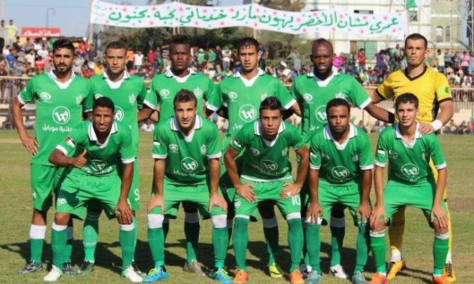 الاحتلال يمنع بطل غزة بكرة القدم المشاركة بنهائي كأس فلسطين