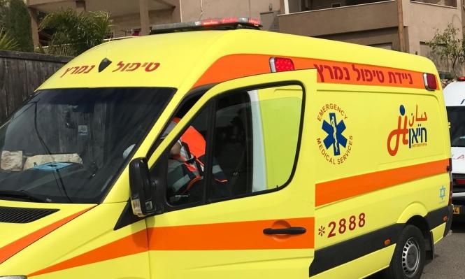 يركا: إصابة عامل إثر سقوطه من علو