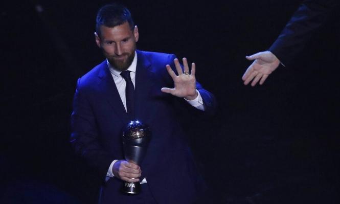 """ماذا قال ميسي بعد تتويجه بجائزة """"الأفضل""""؟"""