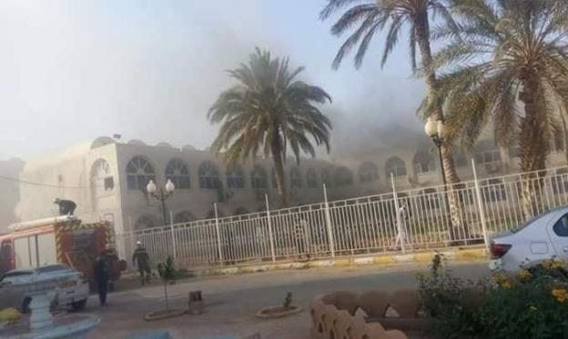 حريق في مشفى بالجزائر يقتل 8 أطفال