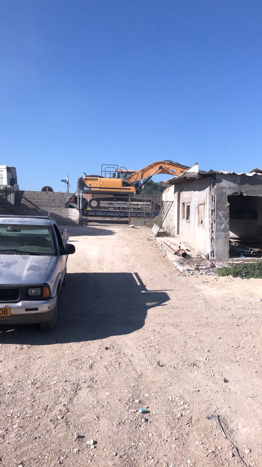 شفاعمرو: غدا إضراب ومسيرة احتجاجا على هدم 3 منازل