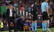 مدرب برشلونة: ميسي ليس مصابا