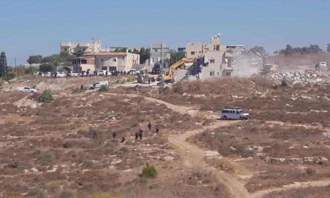 سلطات الاحتلال تهدم 3 منازل في شفاعمرو