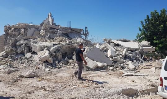 توتّر ومواجهات واعتقالات في شفاعمرو عقب هدم ثلاثة منازل