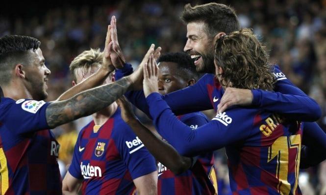 برشلونة يجتاز عقبة فياريال بهدفين لهدف