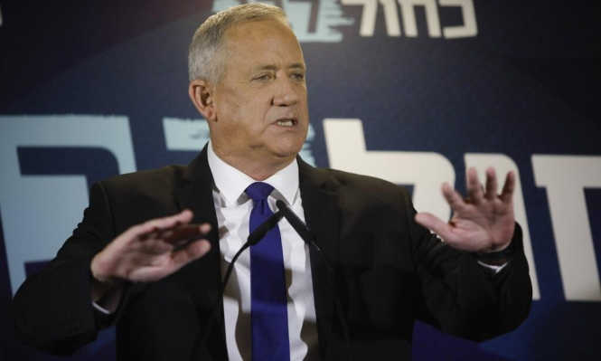 غانتس يكرر دعوة نتنياهو لمفاوضات على حكومة وحدة