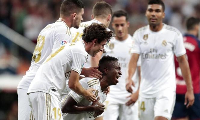 بطولة إسبانيا: ريال يتخطى أوساسونا ويتصدر