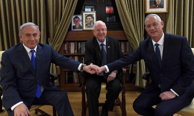 """الليكود و""""كاحول لافان"""" يستأنفان المفاوضات حول حكومة وحدة"""
