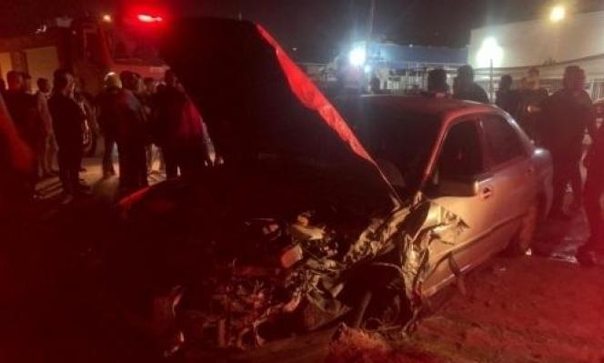 باقة الغربية: 9 إصابات في حادث طرق