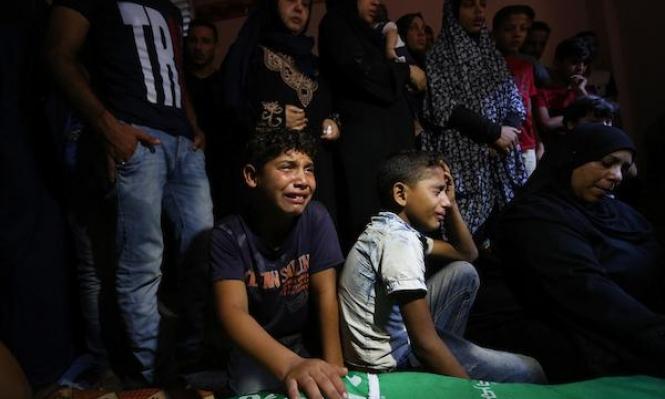غزة: تشييعُ جثمان الشهيد ساهر عثمان في رفح