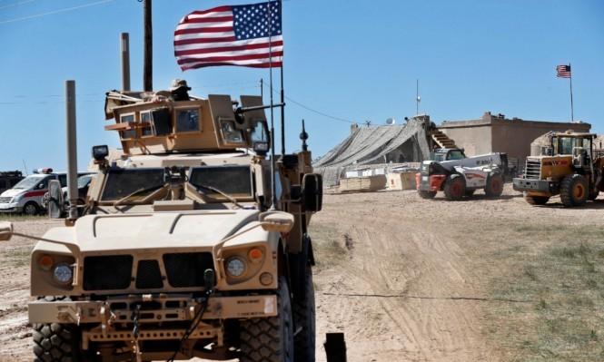 دورية للجيش الأميركي في منبج السورية (أ ب)