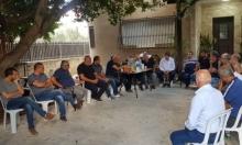 شفاعمرو: خيمة اعتصام وحملة تبرعات لإعادة إعمار البيوت المهدمة