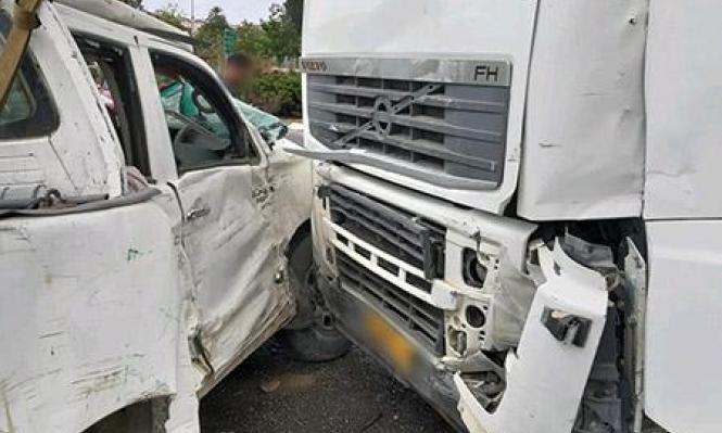 اللد: 4 إصابات في حادث طرق